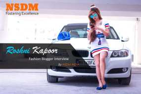 In a candid conversation with Pune's famous fashion blogger – Roshni Kapoor