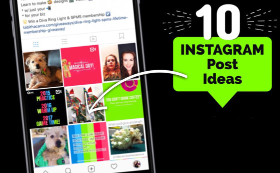 10 trendy steps to improve your Instagram feed.