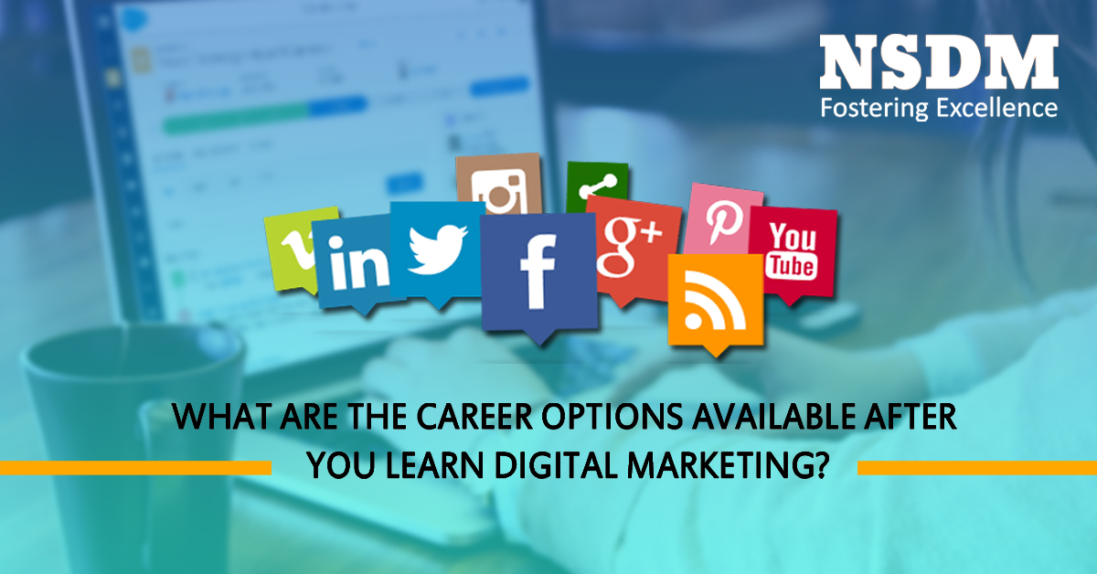 What are the Career options available after you learn digital marketing?