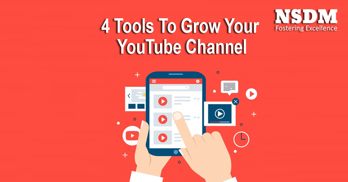 4 Tools To Grow Your YouTube Channel
