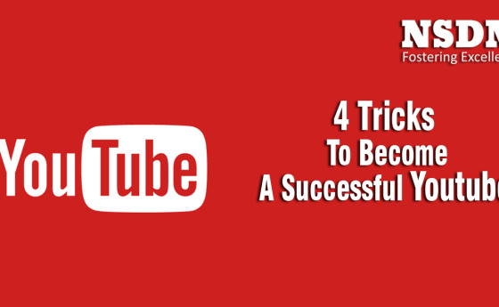 4 Tricks To Become A Successful Youtuber