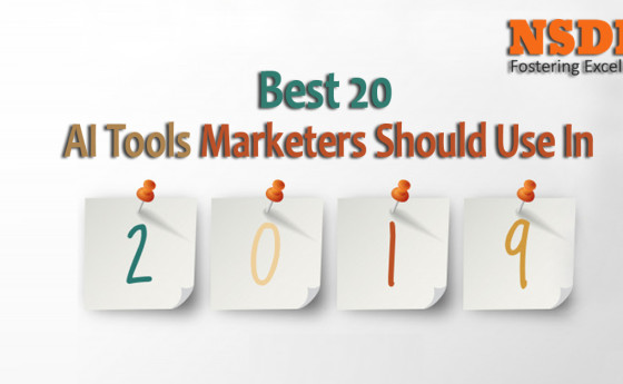 Best 20 AI Tools Marketers Should Use In 2019