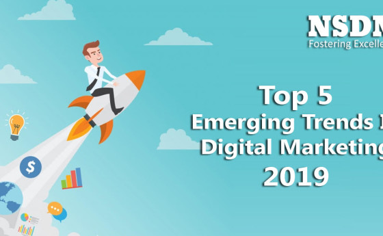 Top 5 Emerging Trends In Digital Marketing 2019