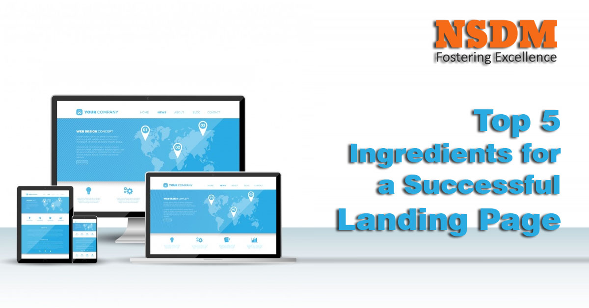 Top 5 Ingredients for a Successful Landing Page
