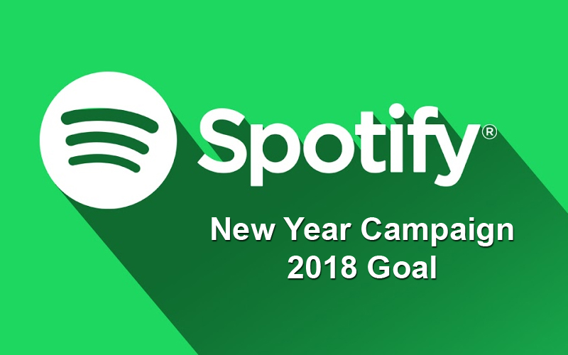 Spotify New Year Campaign