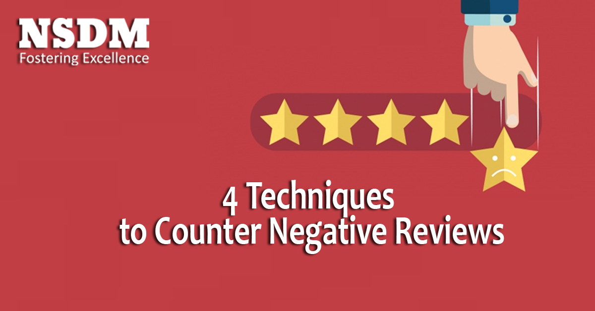 4 Techniques to Counter Negative Reviews